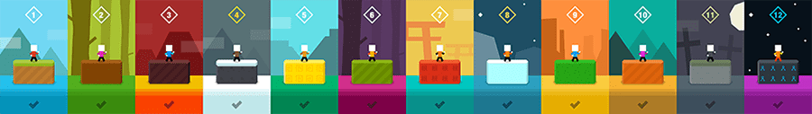 Mr Jump 1Button levels iOS