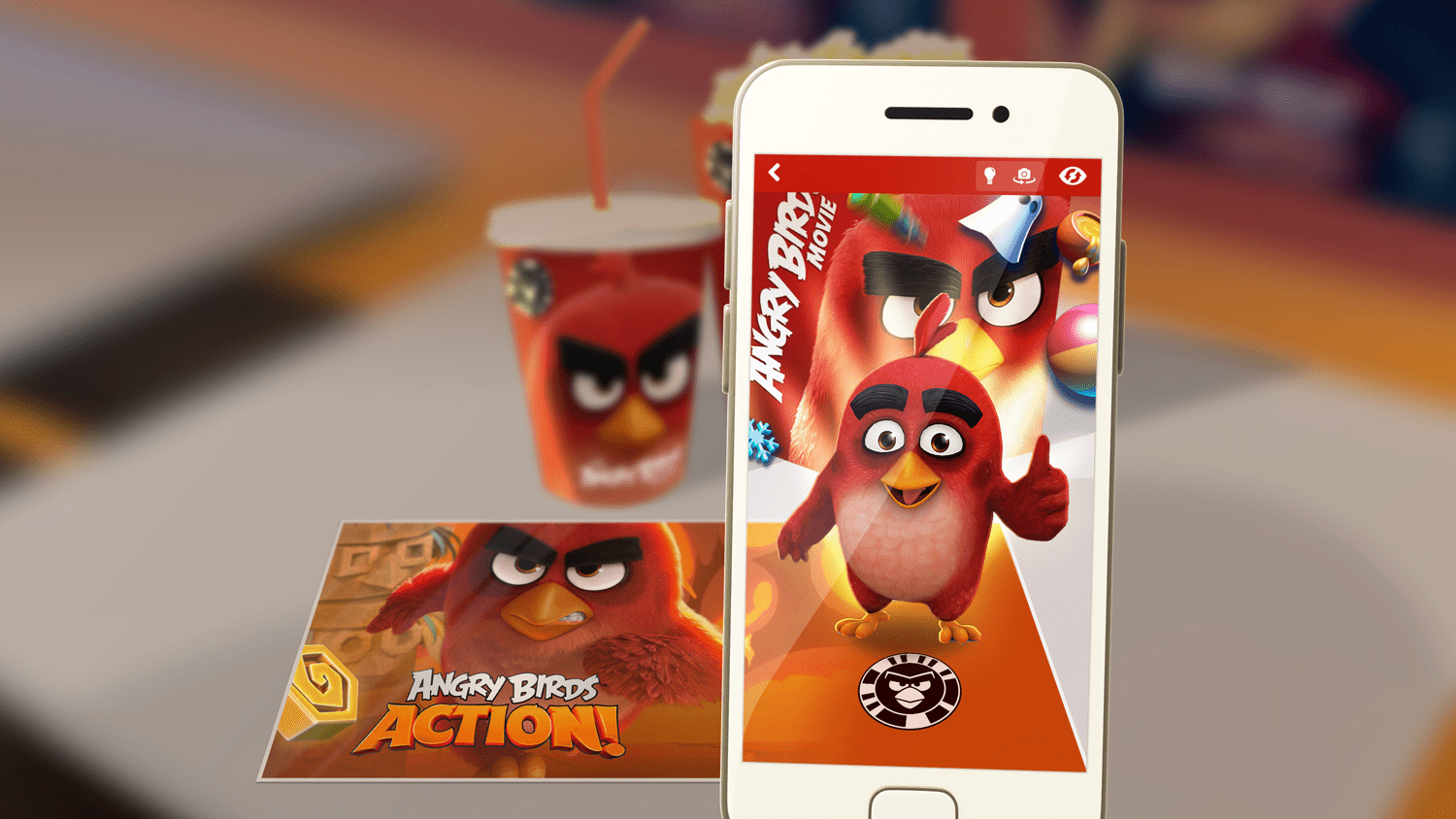 The Angry Birds Movie BirdCodes McDonald's mobile game