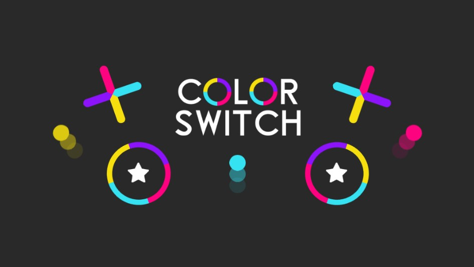 Color Switch code-free mobile game