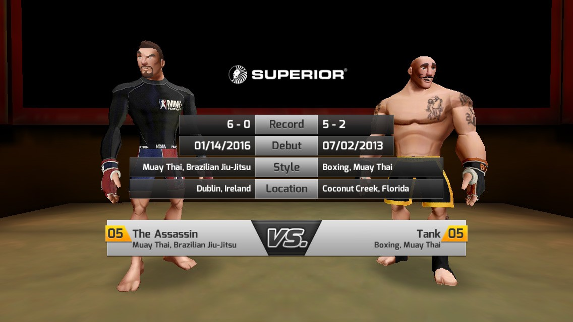 MMA Federation mobile game IP licensing