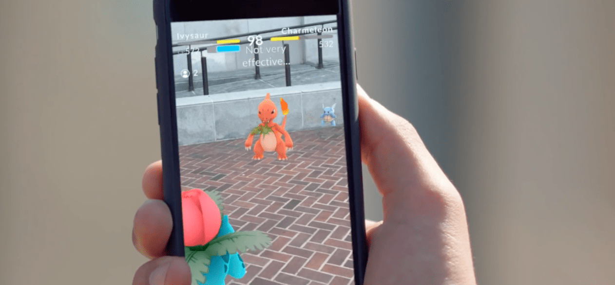Niantic Pokemon Go screenshot
