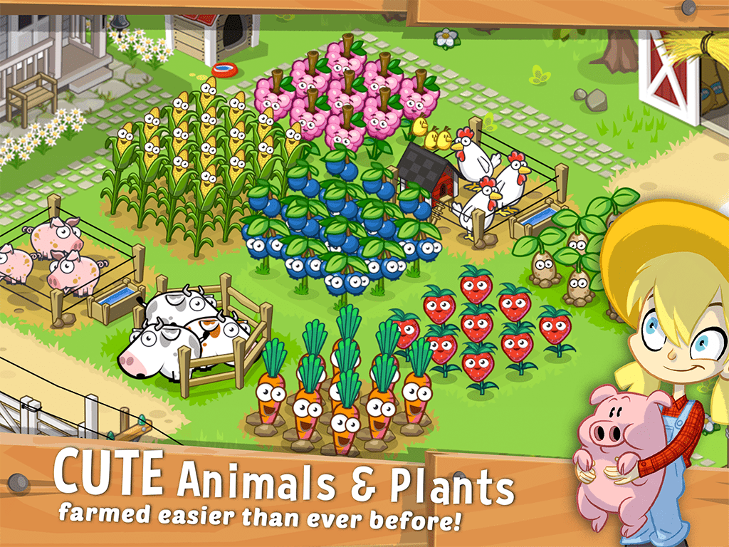 Futureplay Games Farm Away mobile game screenshot