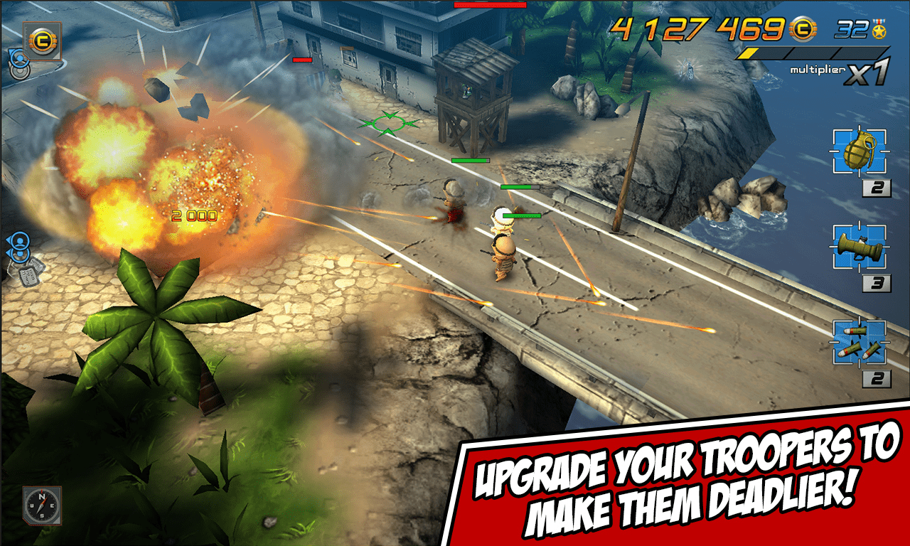 Game Troopers Tiny Troopers Windows Phone Store mobile game