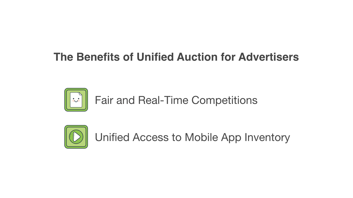 Unified Auction benefits for advertisers
