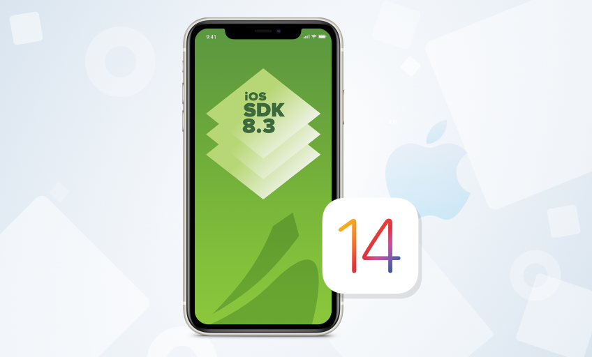 iOS SDK 8.3 supporting iOS 14